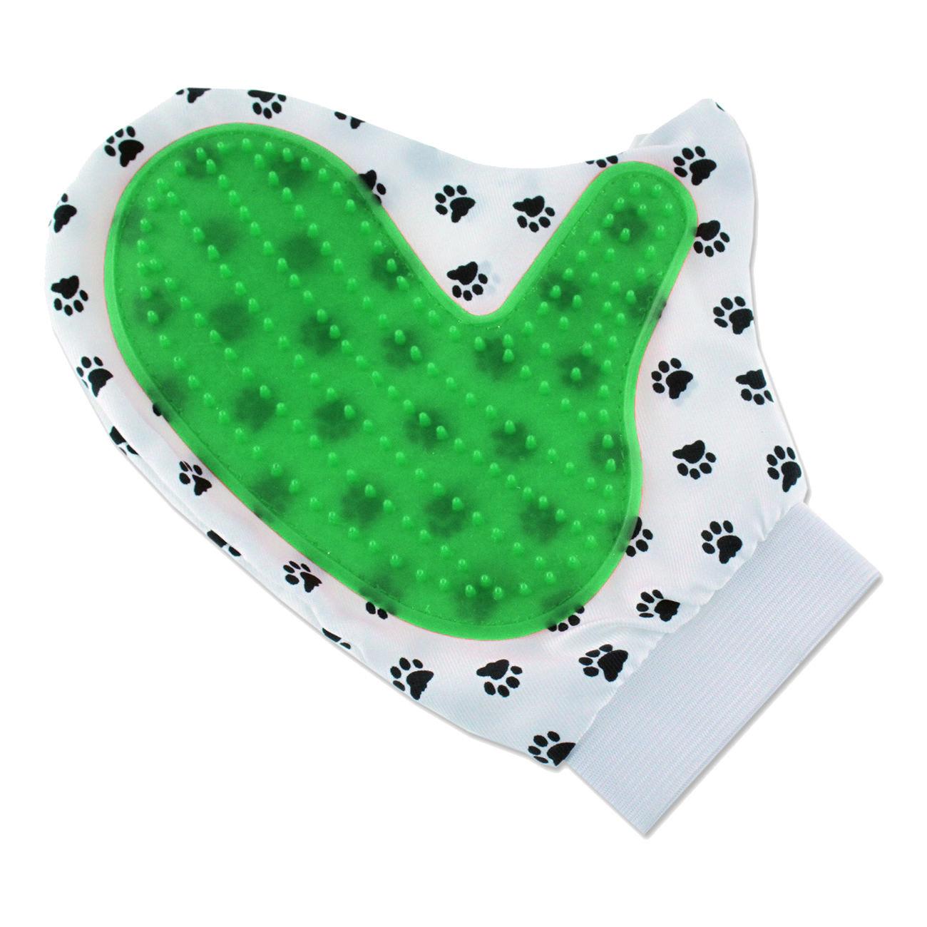 gant de brossage pour chien chat animaux nettoyage masser ebay. Black Bedroom Furniture Sets. Home Design Ideas